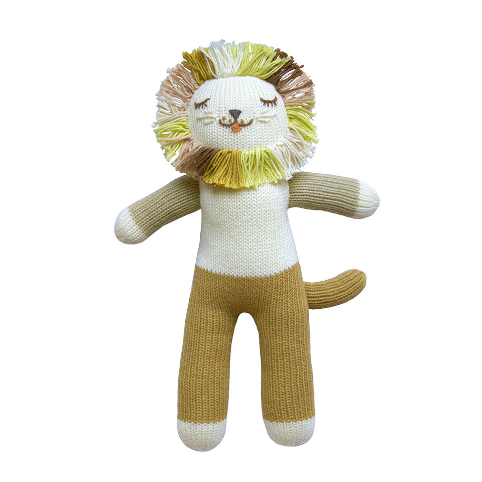 Blabla Lionel the Lion Knit Doll