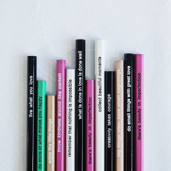 Quotable Pencils - Bundle of 5