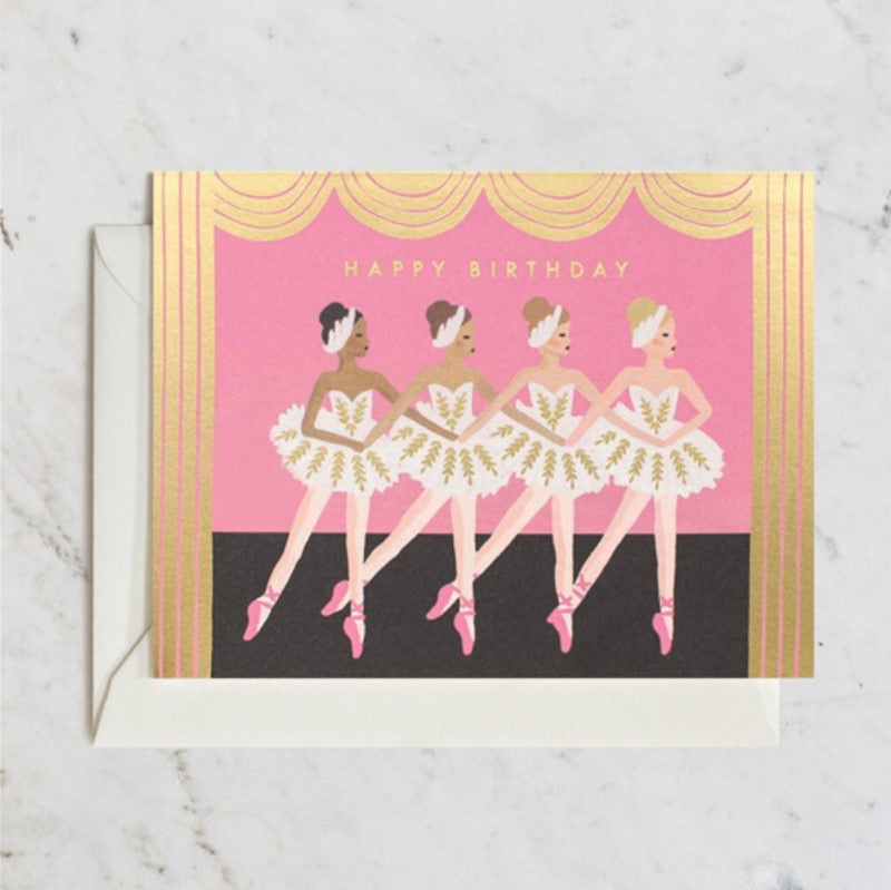 Rifle Paper Co. Greeting Card | Ballet Birthday