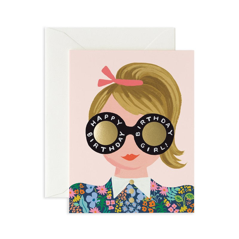 Rifle Paper Co. Greeting Card | Meadow Birthday Girl