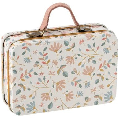 Maileg Travel Suitcase - Merle Light Floral