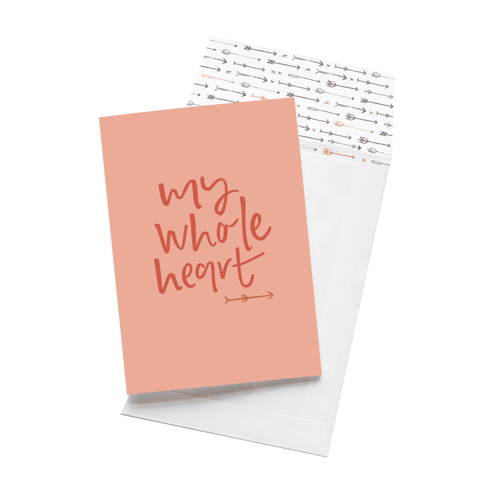 Emma Kate Co Greeting Card | My Whole Heart