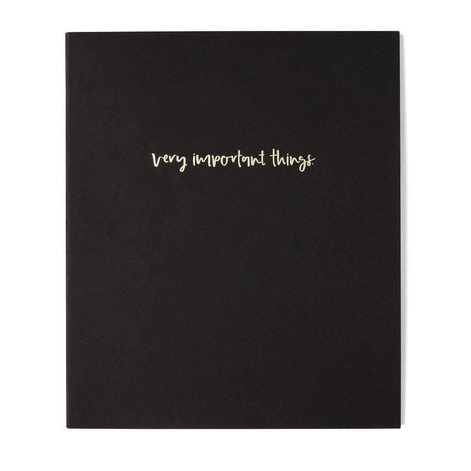 Emma Kate Co A5 Notebook | Very Important Things