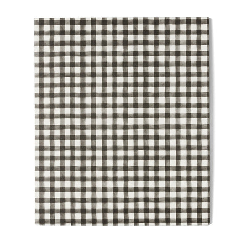 Emma Kate Co A5 Notebook | Black Gingham
