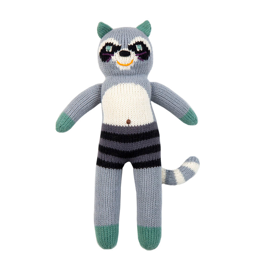 Blabla Bandit the Raccoon Knit Doll