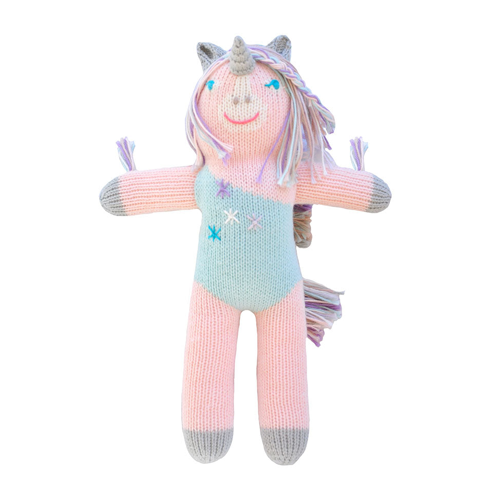 Blabla Confetti the Unicorn Knit Doll
