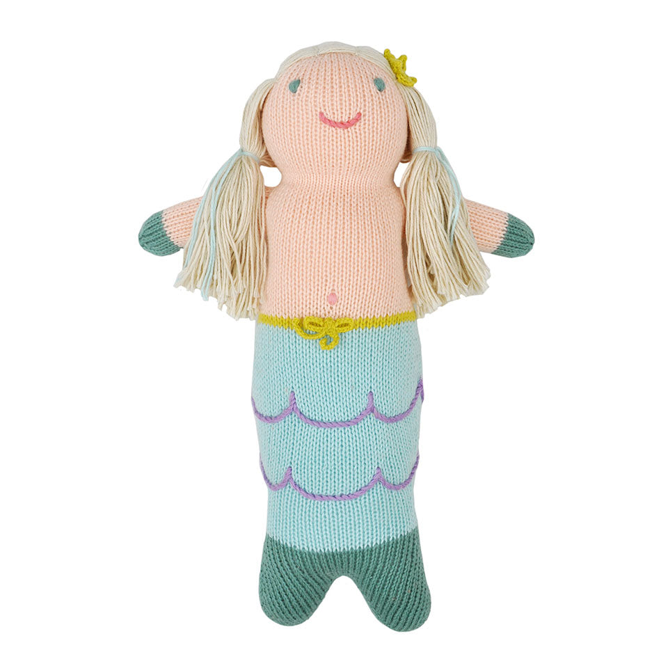 Blabla Harmony the Mermaid Knit Doll