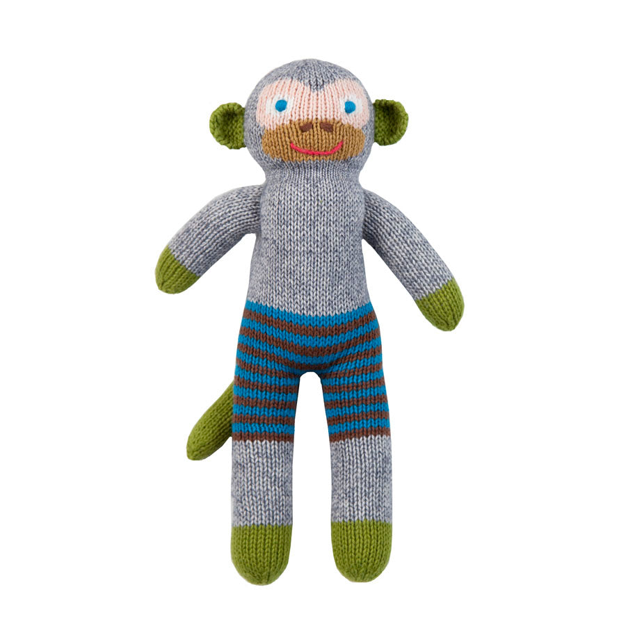 Blabla Mozart the Monkey Knit Doll