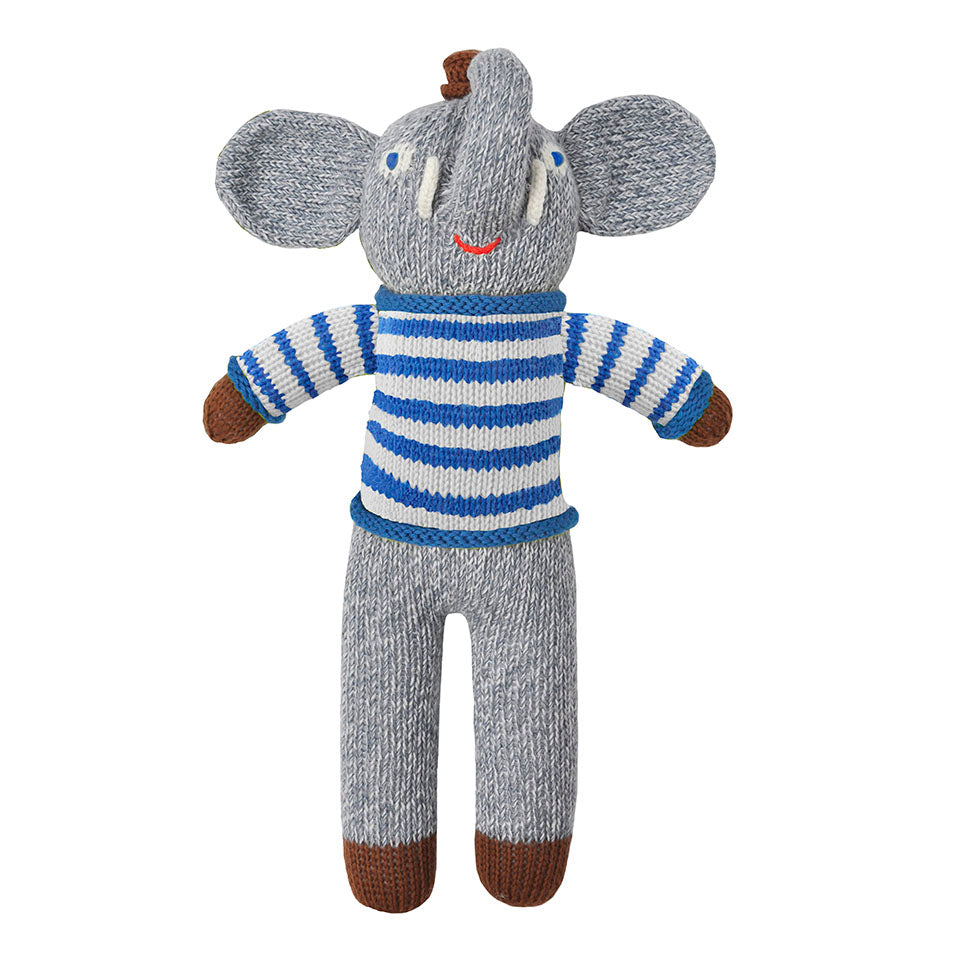 Blabla Rivier the Elephant Knit Doll
