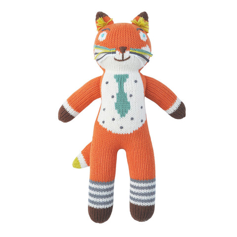 Blabla Socks the Fox Knit Doll