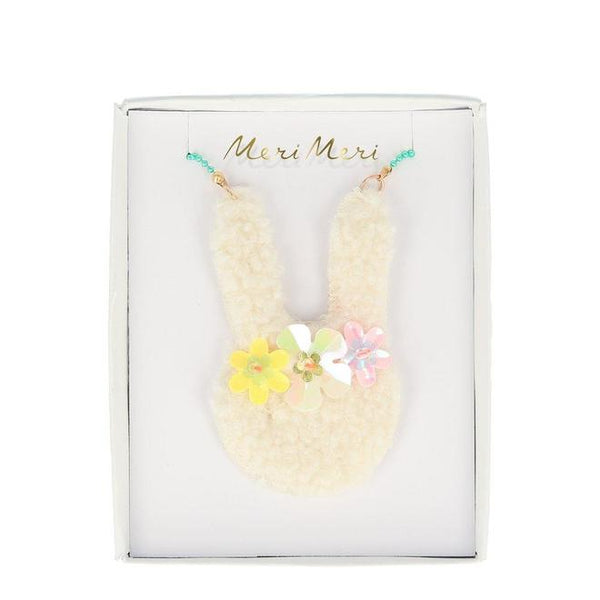 Meri Meri Floral Bunny Necklace