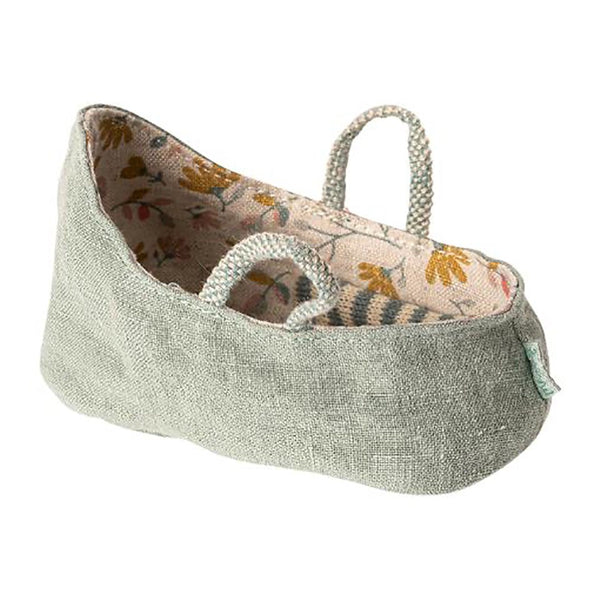 Maileg Carrycot | Dusty Green