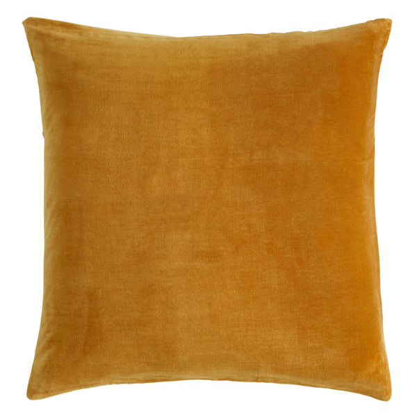 Castle Euro Pillowcase | Butterscotch Velvet