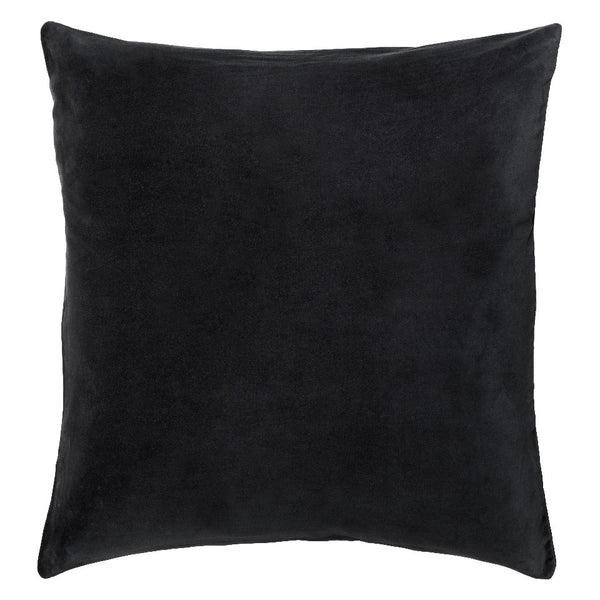 Castle Euro Pillowcase | Charcoal Velvet