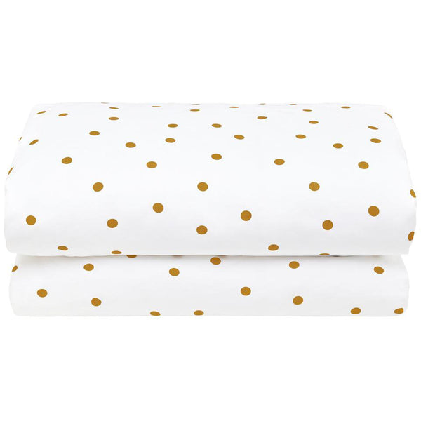 PRE-ORDER Castle Butterscotch Spot Duvet Cover