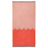 Castle Bath Towel | Raspberry