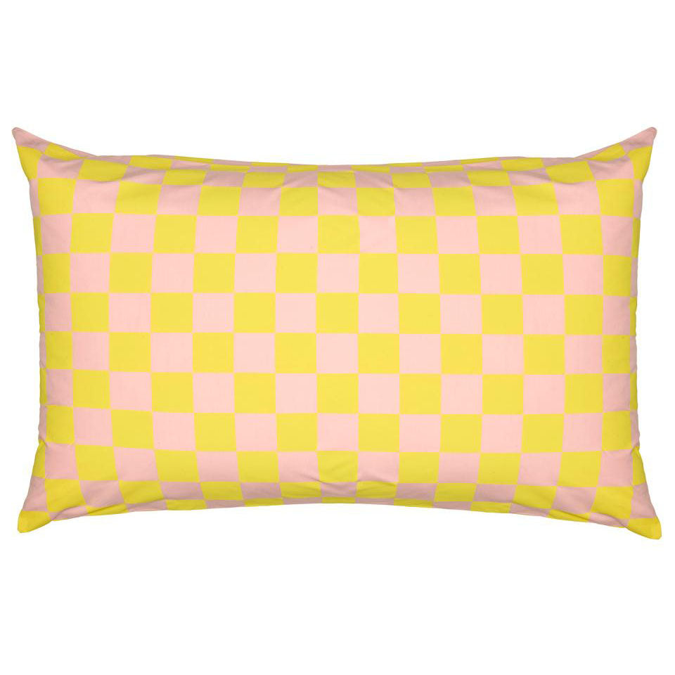 PRE-ORDER Castle Pillowcase | Happy Check