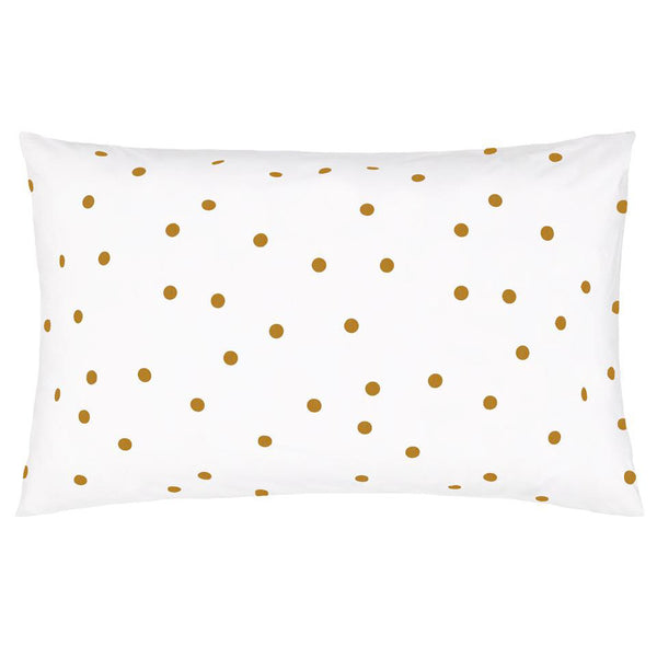 PRE-ORDER Castle Pillowcase | Butterscotch Spot