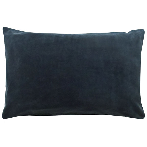 Castle Pillowcase | Charcoal Velvet