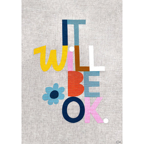 Pre-Order Castle Art Teatowel | It Will Be Ok