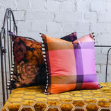 Designers Guild Varanasi Fuchsia Silk Cushion