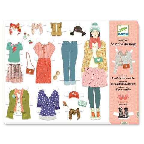 Djeco Paperdolls | Grand Fashion