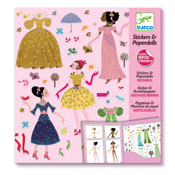 Djeco Stickers & Paperdolls | Seasons