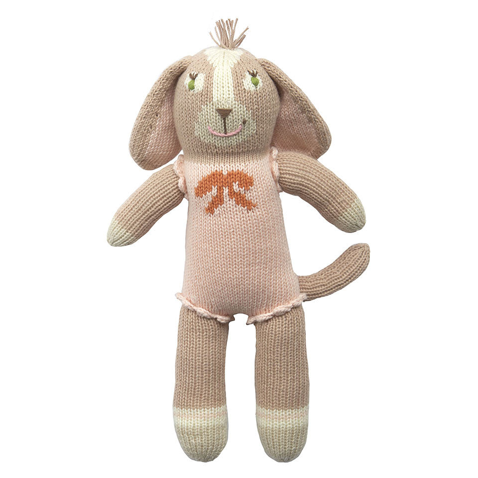 Blabla Belle the Dog Knit Doll