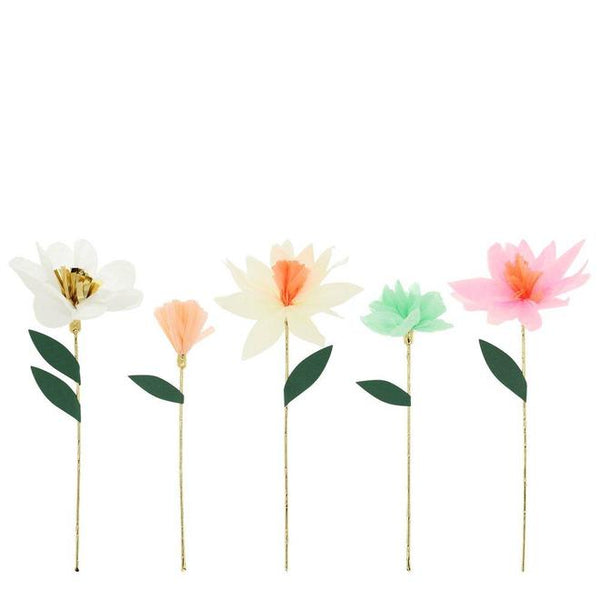 Meri Meri Flower Garden Decorative Sticks