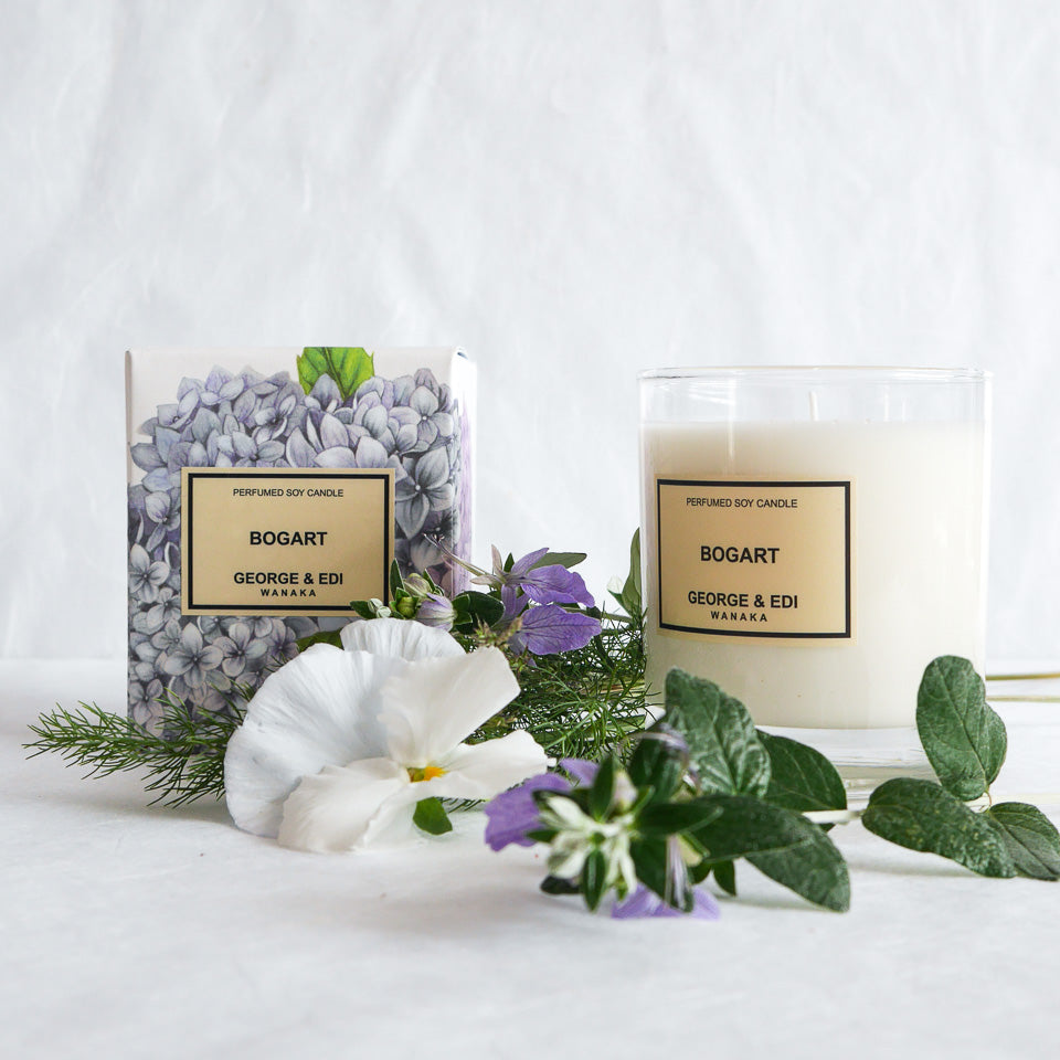 George & Edi Perfumed Candle | Bogart