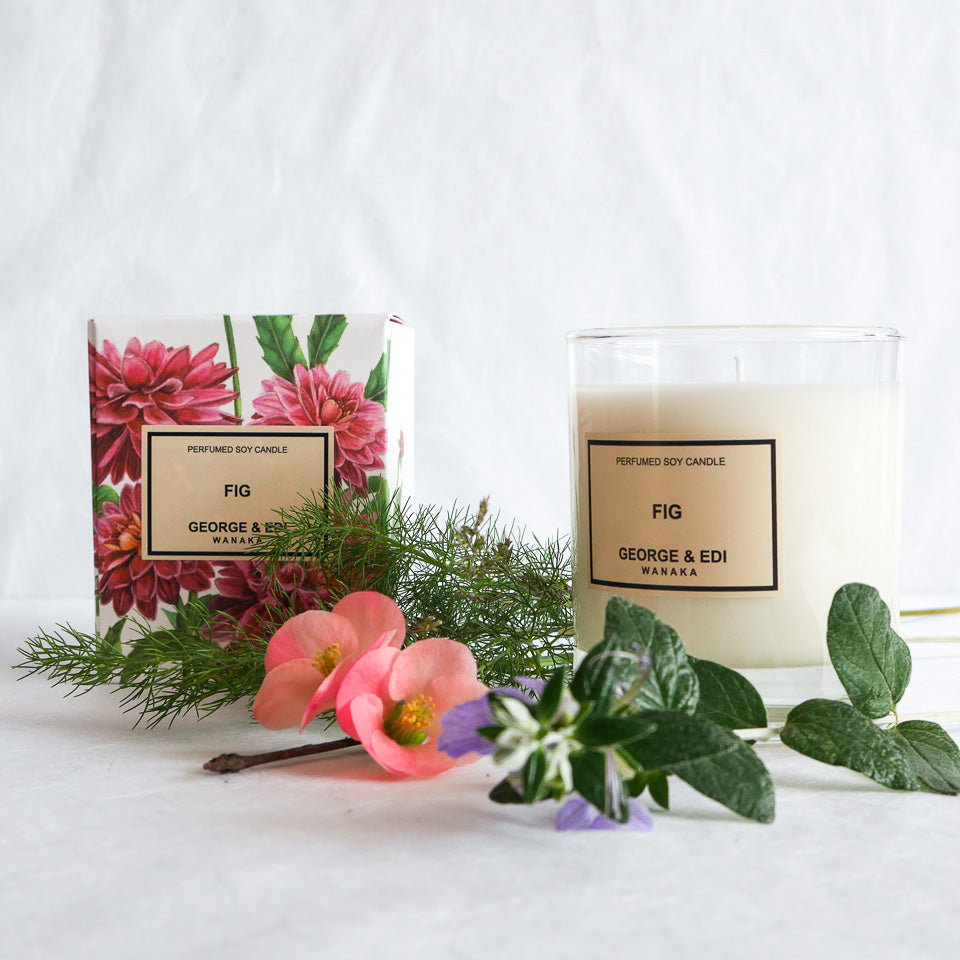 George & Edi Perfumed Candle | Fig