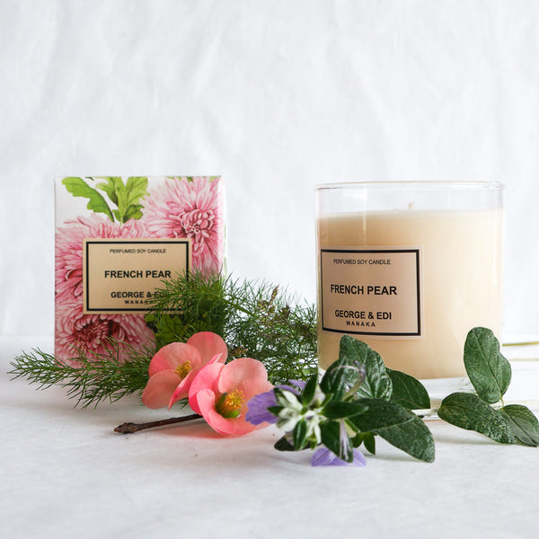 George & Edi Perfumed Candle | French Pear