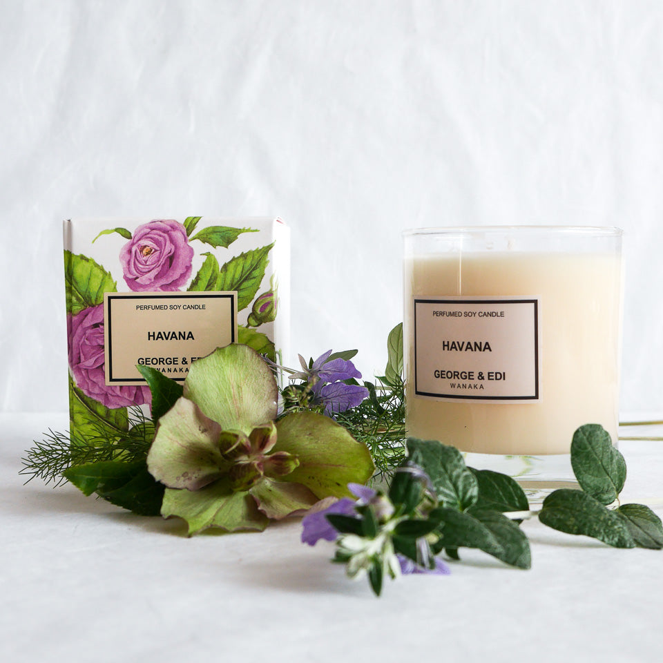 George & Edi Perfumed Candle | Havana