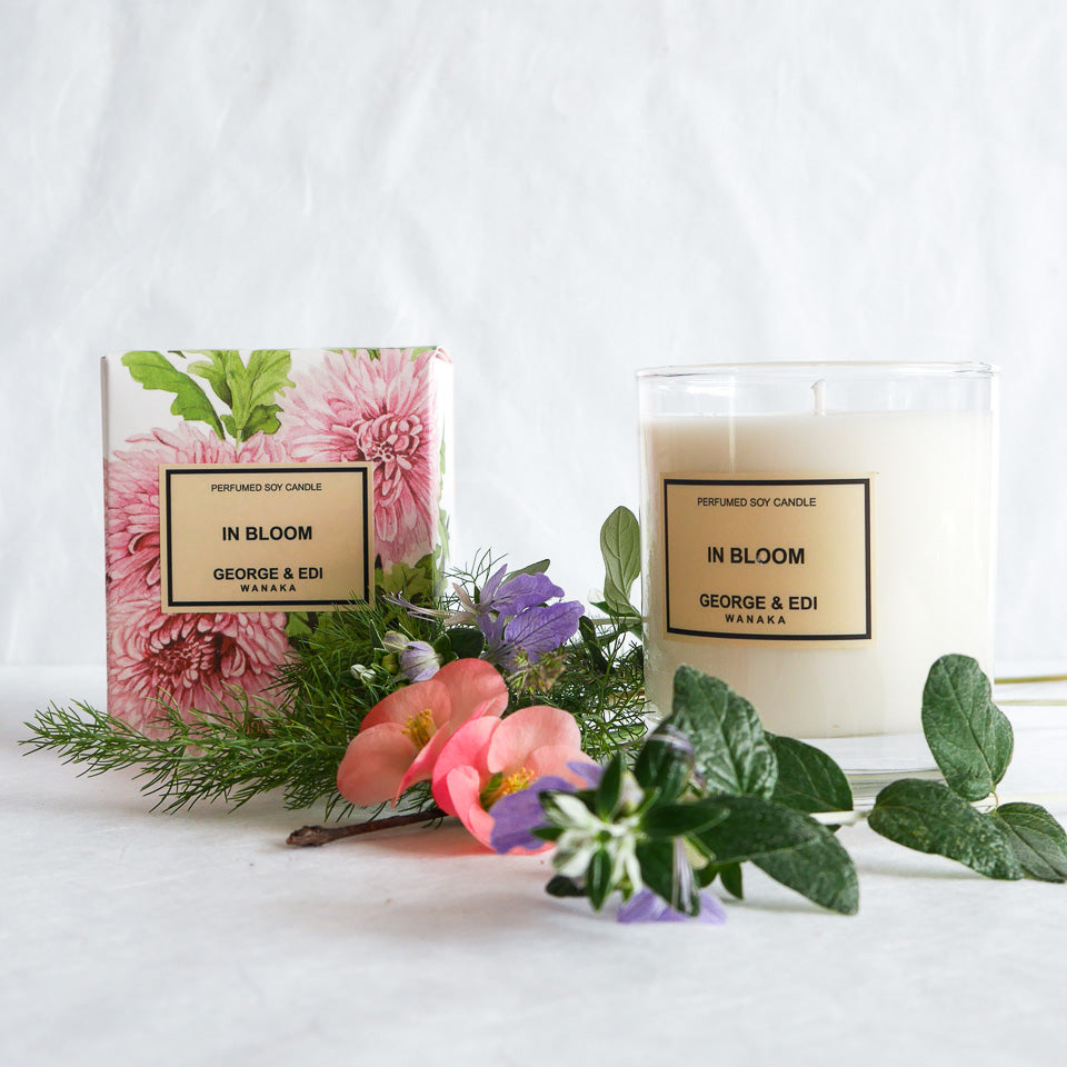 George & Edi Perfumed Candle | In Bloom