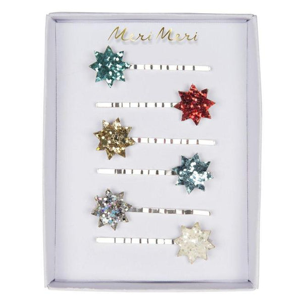 Meri Meri Hairclips | Glitter Star