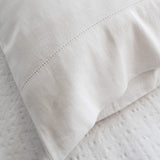 Union Hemstitch White Sheets