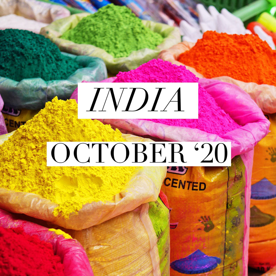 Adventures With Marigolds | A Boutique Tour To India | October '20