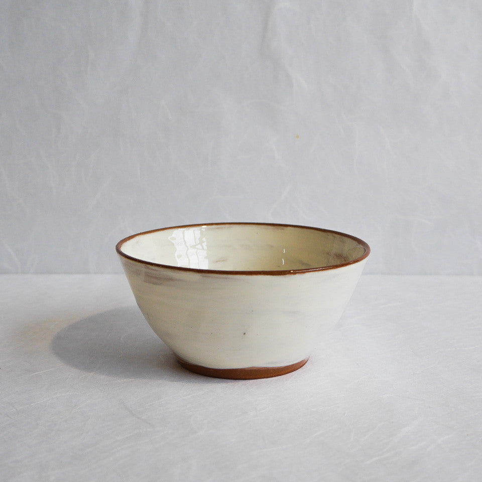 Katherine Smyth Icecream Bowl | White