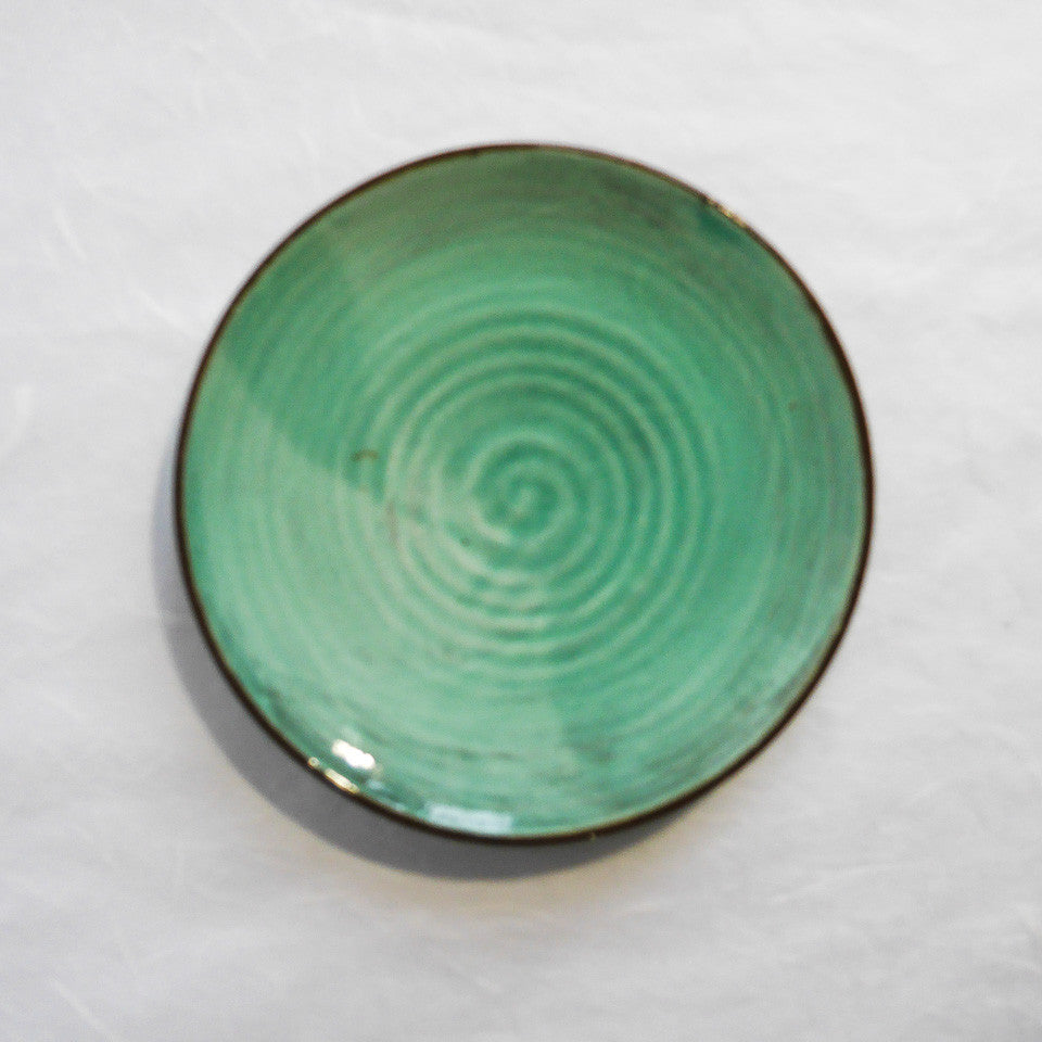 Katherine Smyth Side Plate | Sea Green
