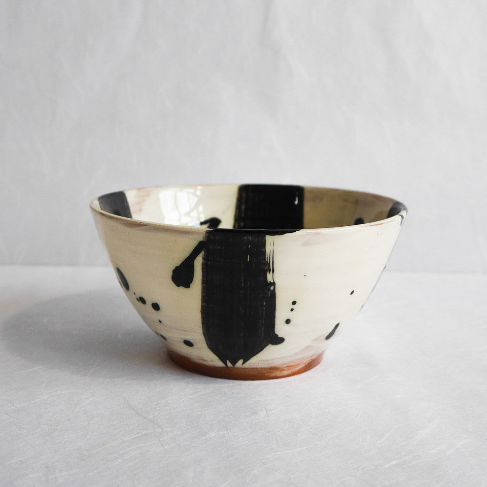 Katherine Smyth Small Bowl | Black & White