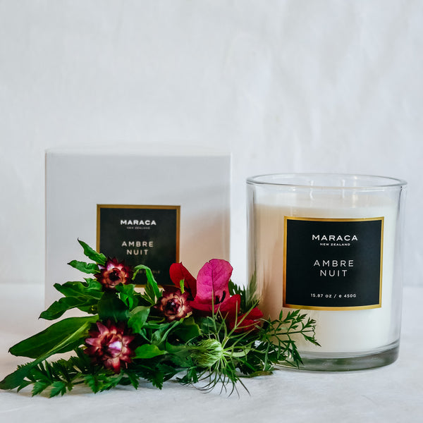 Maraca Luxury Candle | Ambre Nuit