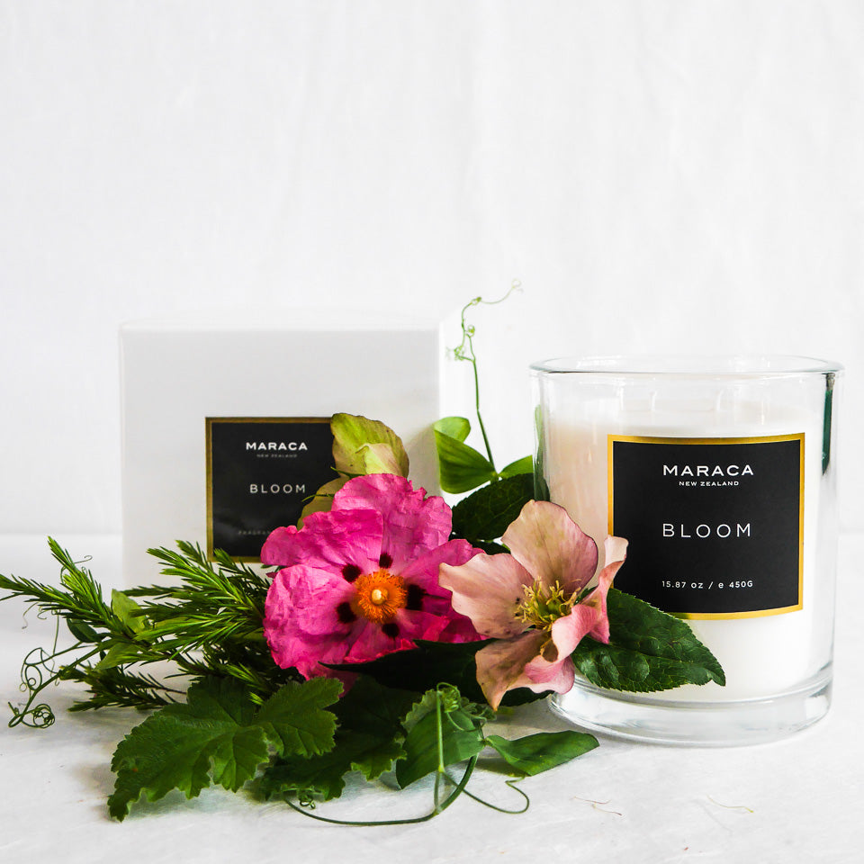 Maraca Luxury Candle | Bloom