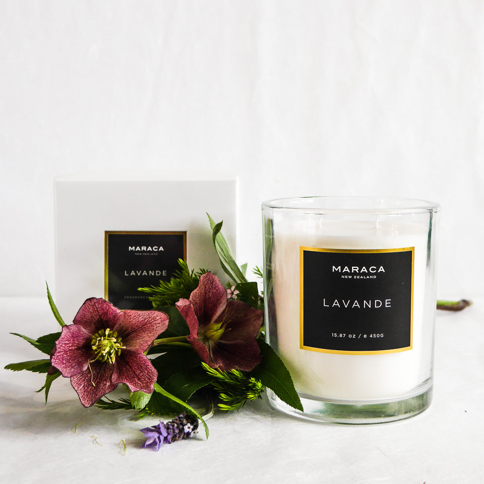 Maraca Luxury Candle | Lavande