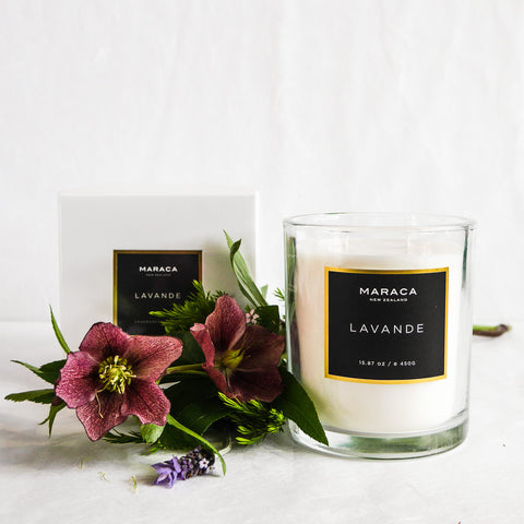 Maraca Luxury 500g Candle | Lavande