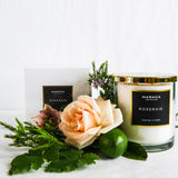 Maraca Luxury Candle | Roseraie