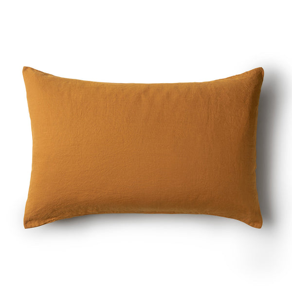 Minimrkt Linen Pillowcase | Mustard