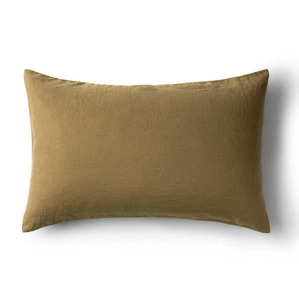 Minimrkt Linen Pillowcase | Moss