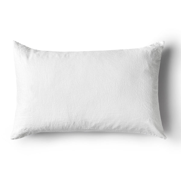 Minimrkt Linen Pillowcase | White