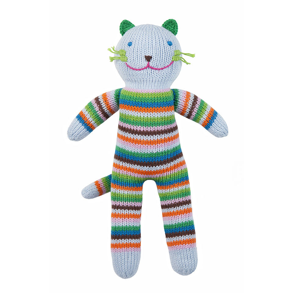 Blabla Sandwich the Cat Knit Doll