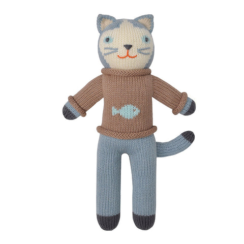 Blabla Sardine the Cat Knit Doll
